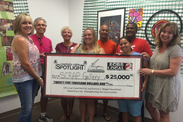 "S.C.R.A.P. Gallery Receives Grant to Create ""Kids Green Teams"""