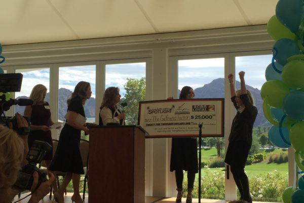 The Girlfriend Factor Receives $25,000 for Education Outreach