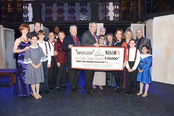 Grant from Berger Foundation will Help Upgrade Palm Canyon Theatre