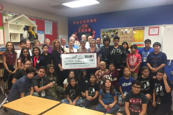 $25,000 Grant will Support Palm Springs Unified School District