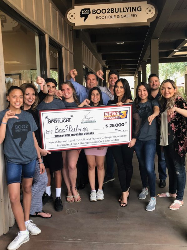 Berger Foundation Grant Helping Boo2Bullying Expand Programming