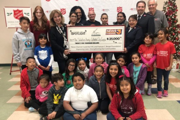 Salvation Army Receives Grant for After-school Program